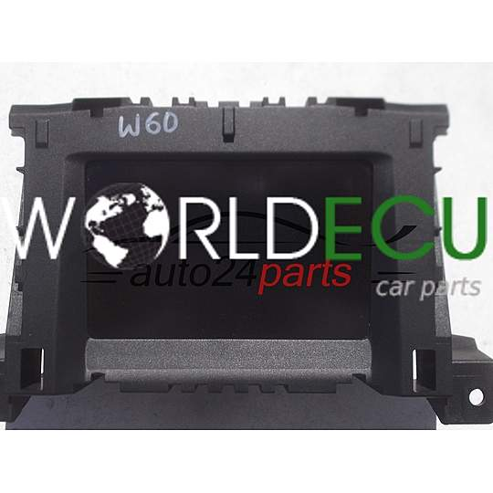 MULTI FUNCTION RADIO DISPLAY OPEL VAUXHALL CHEVROLET HOLDEN H 3 III ZAFIRA 13208089, 6236506, 62 36 506 AT