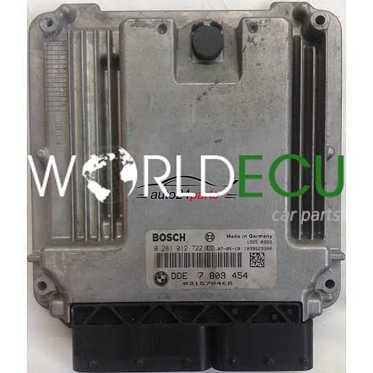 Ecu Engine Controller Bmw Mini Cooper 1 6d Bosch 0 281 012
