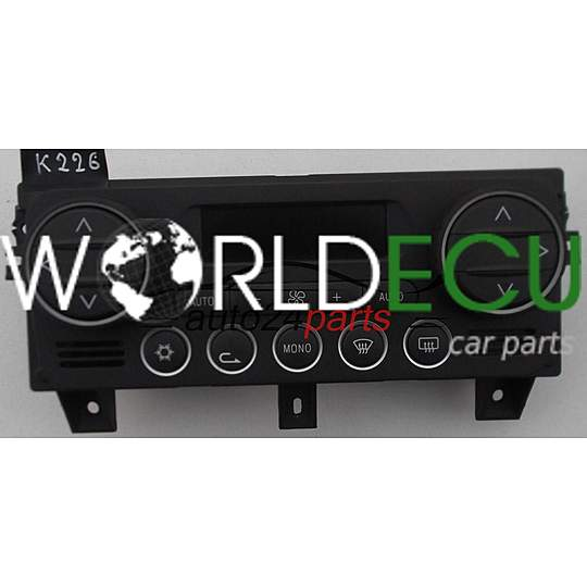 HEATING AND AIR CONDITIONING CONTROL PANEL SWITCH CLIMATRONIC FIAT ALFA  ROMEO 159 156079803 / 52408173/01 / 5240817301 / F21454 / 214549095838