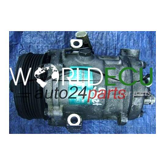 COMPRESSOR AIR CONDITIONING CON AIR CONDITIONING PUMP OPEL 2.0 DTL X20DTL ASTRA G ZAFIRA A 90559843 MD, GM 1854086 SANDEN SD6V12