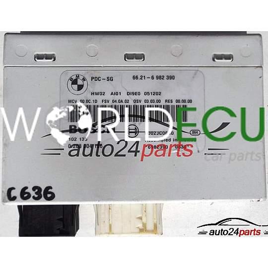 CONTROL MODULE EINPARKHILFE PDC BMW E90, E91, BOSCH 0 263 004 186,  0263004186, 6002JC0630, 66 21-6 982 390, 66216982390