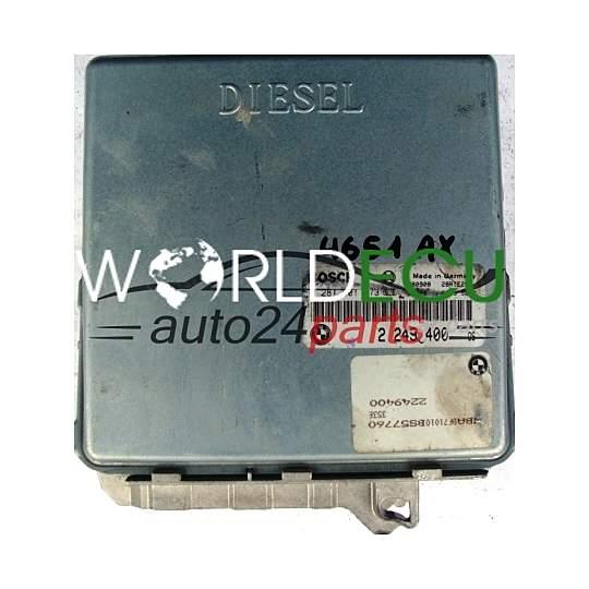 ecu engine controller bmw e39 525 2 5 tds bosch 0281001373