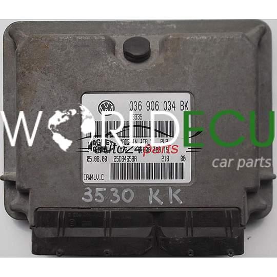 036906034DE VW Polo Skoda Fabia 1.4 Moteur 036906034 écus de