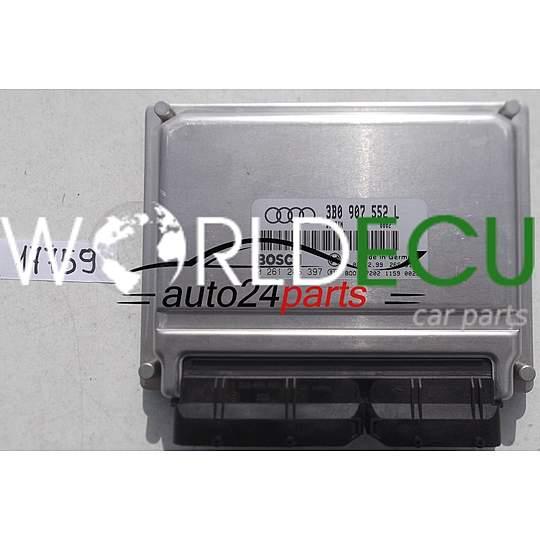 блок управления двигателем Audi A4 A6 24 V6 Bosch 0 261 206 397