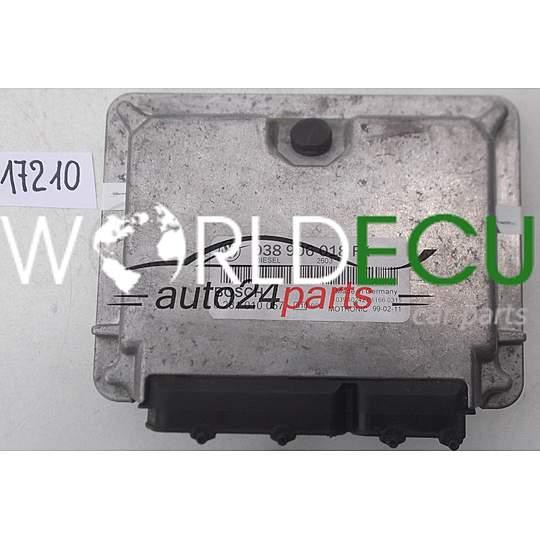 038906018FK 0 281 010 057 0281010057// Volkswagen Caddy 1,9TDI //Motorsteuergerät