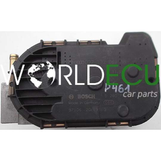 THROTTLE BODY VW VOLKSWAGEN SEAT BOSCH 0 280 750 086, 0280750086, 022 133 062 AB, 022133062AB