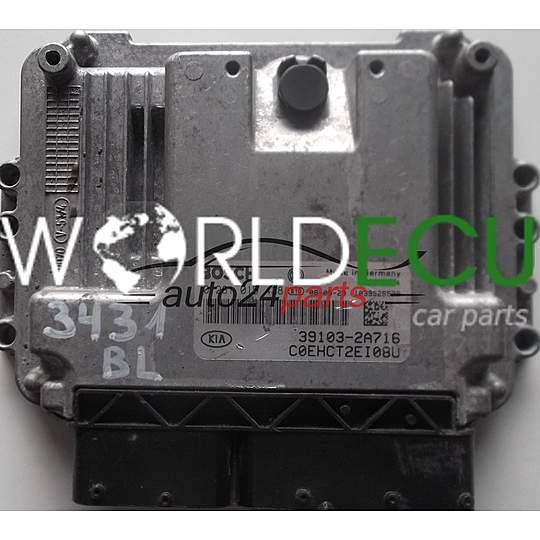ECU ENGINE CONTROLLER KIA CEED 1 6 CRDI BOSCH 0281015438, 0