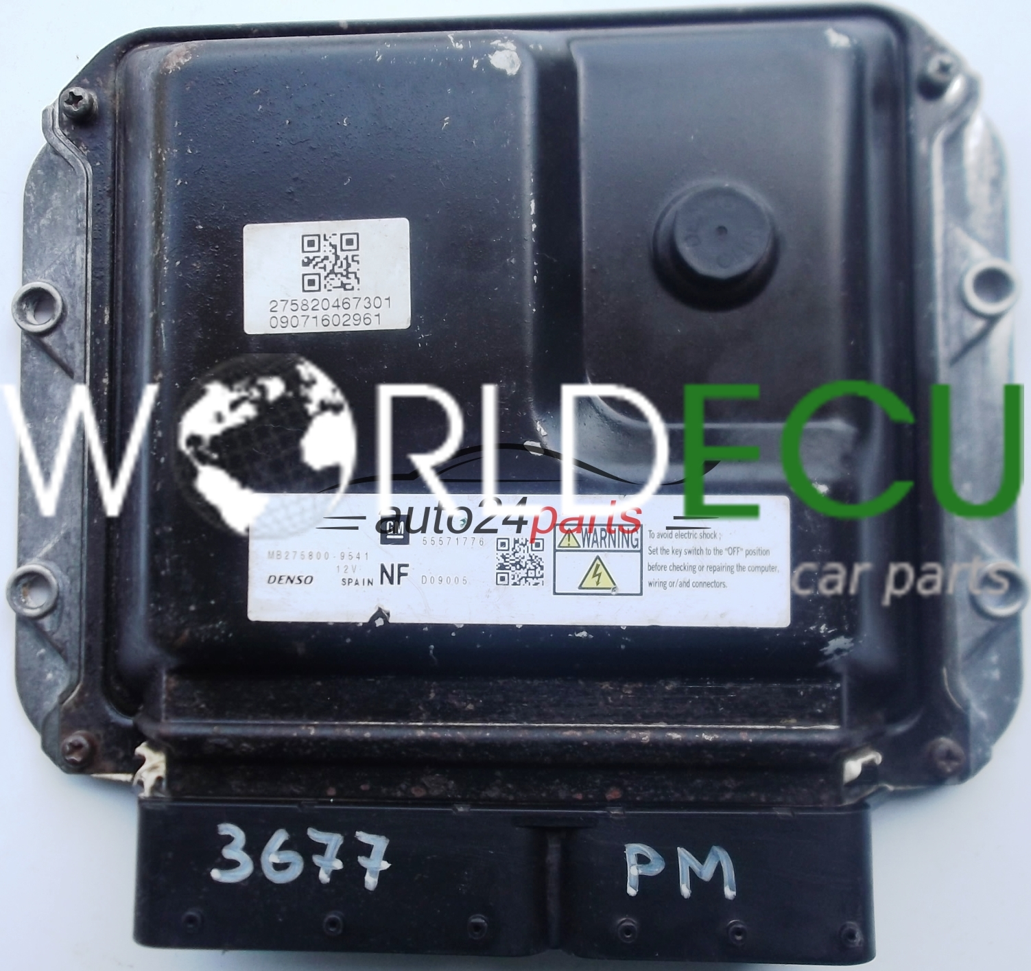 Ecu Engine Controller Opel Astra Zafira 1 7 Cdti A17dtj