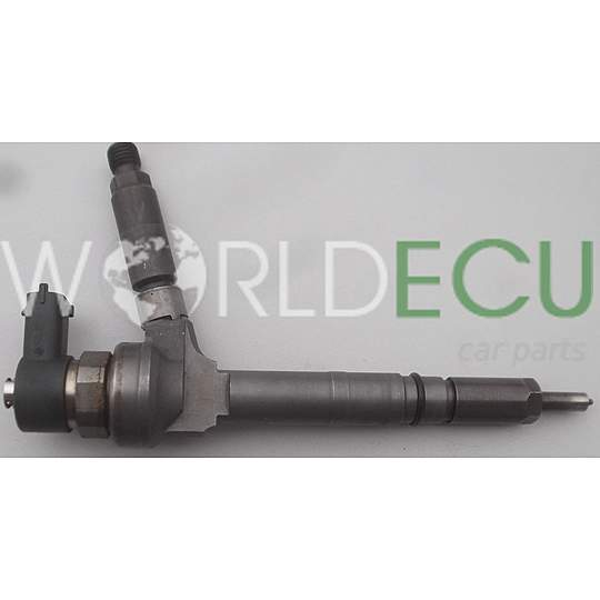 FUEL INJECTOR DIESEL COMMON RAIL OPEL ASTRA HONDA CIVIC 1.7 CDTI Z17DTH BOSCH 0445110082 - USED