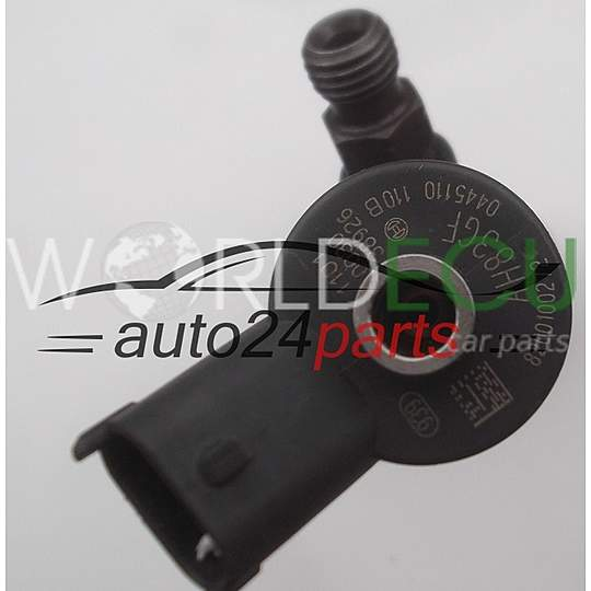 FUEL INJECTOR DIESEL COMMON RAIL OPEL RENAULT 1.9 DCI BOSCH 0445110110B, 8200100272 - USED
