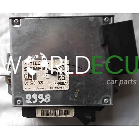 ecu engine controller opel vectra   xxe  xxev  rs