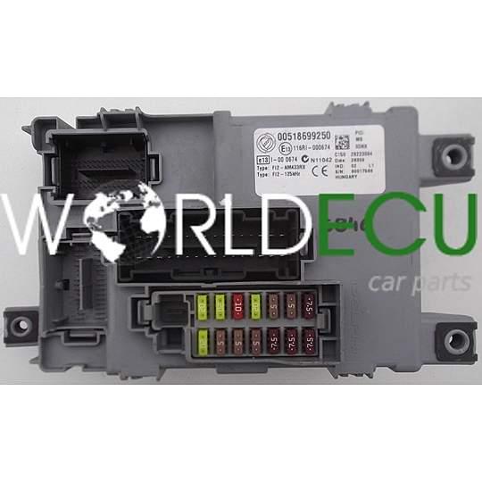 Fuse Box Fiat Punto Evo : Comfort control module bsi fiat punto grande evo delphi