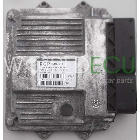 Ecu Engine Controller Fiat Punto 1 3 Jtd 55192093