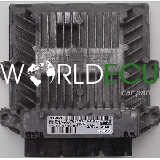 ECU ENGINE CONTROLLER FORD FOCUS 1 8 TDCI 4M51-12A650-JL