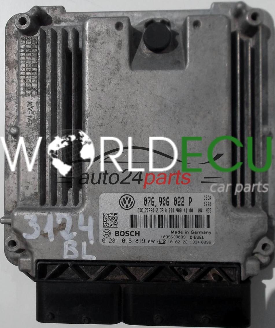 Ecu Engine Controller Vw Volkswagen Crafter 2 5 Tdi