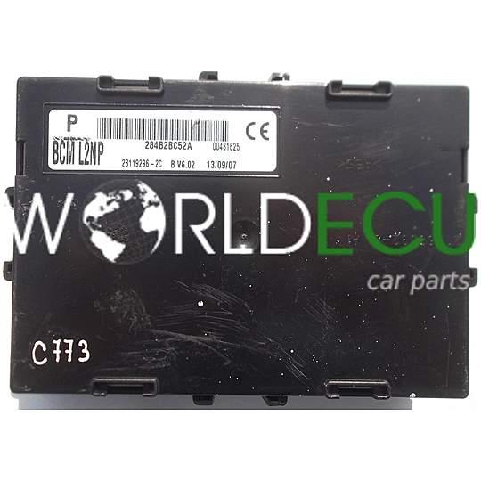 Comfort Control Module Nissan Micra K12 284b2bc52a Bcm L2np Bcml2np 28119296 2c 281192962c Fuse Box Bsi World Ecu