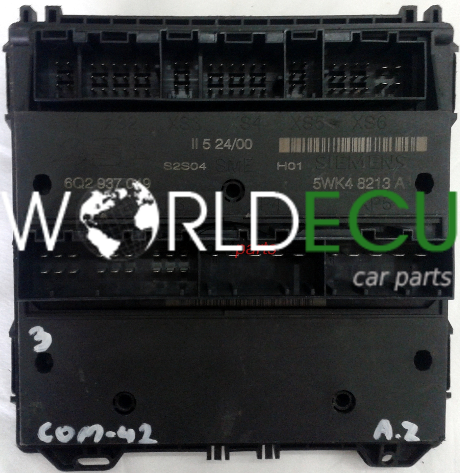 skoda fabia mk1 fuse box comfort control module 6q2937049 6q2 937 049 siemens