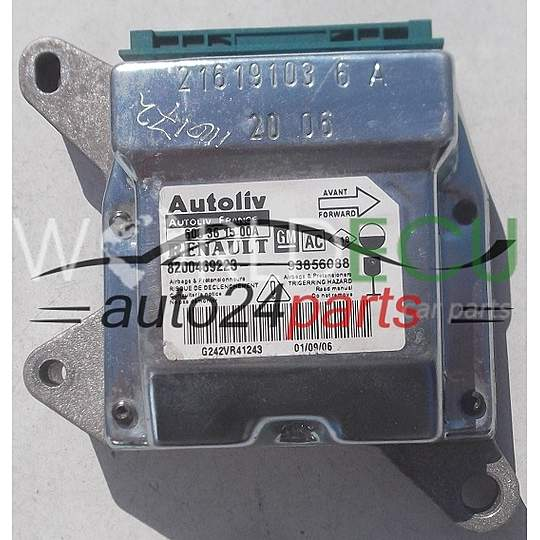 AIRBAG STEUERGERAT  RENAULT TRAFIC 93856088 AC, 8200469223, 608 36 15 00A, 608361500A