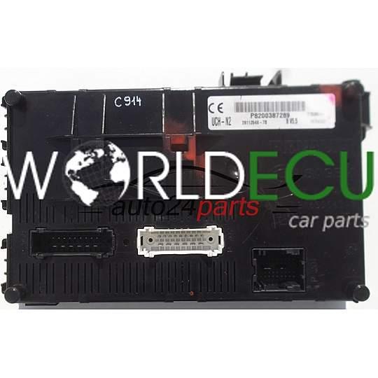 COMFORT CONTROL MODULE BSI RENAULT CLIO SAGEM UCH-N2, P8200387289,  28112548-7B, 281125487B