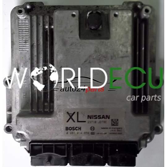ECU ENGINE CONTROLLER NISSAN QASHQAI 2 0 DCI BOSCH 0281014859, 0 281 014  859, 23710 JD78E, 23710JD78E