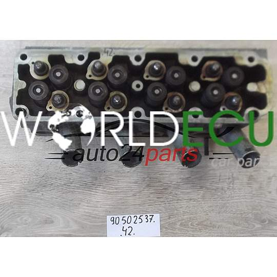 ENGINE CYLINDER HEAD 1.4 C14NZ OPEL ASTRA CORSA 90502537