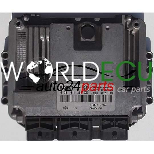 Ecu Engine Controller Renault Megane Scenic 1 9 Dci Bosch 0281011390  0 281 011 390  8200310863