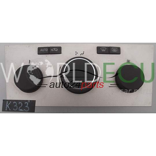 HEATING AND AIR CONDITIONING CONTROL OPEL ASTRA H ZAFIRA 13250621 PP3