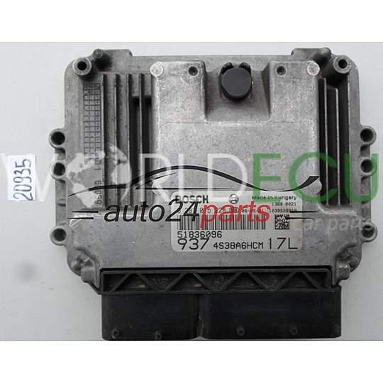 ECU Engine Control Unit ALFA ROMEO 147 1.9 JTDM BOSCH 0