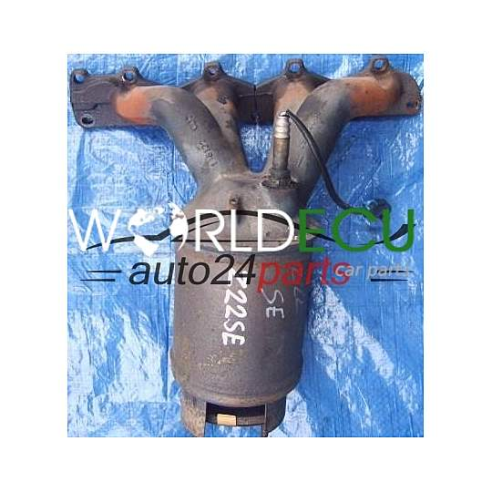 CATALYTIC CONVERTER WITH EXHAUST MANIFOLD 2.2 Z22SE OPEL VECTRA C SIGNUM 24407027, 55555768, 849160, 5849009