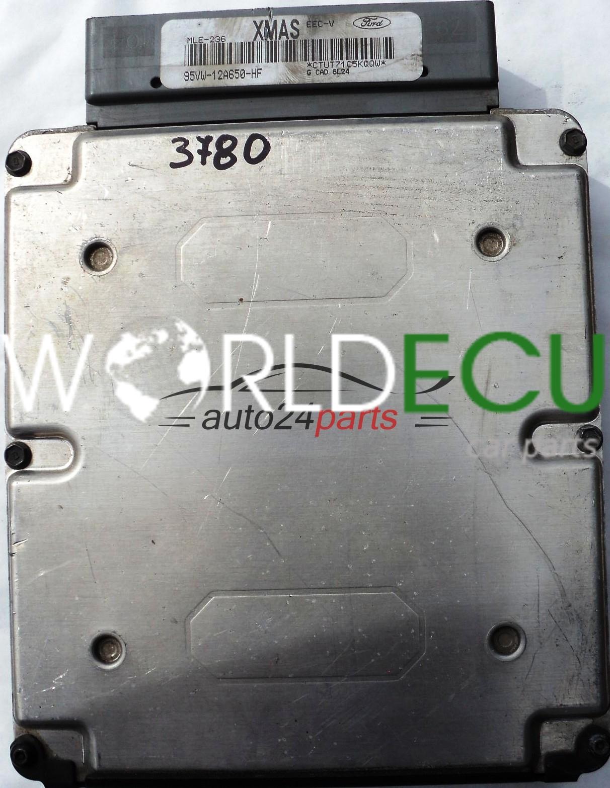 calculateur moteur ford galaxy 2 3 95vw12a650hf xmas mle 236 95vw 12a650 hf calculateur. Black Bedroom Furniture Sets. Home Design Ideas