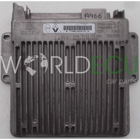 Ecu Engine Control Unit Renault Twingo Sagem 21624890