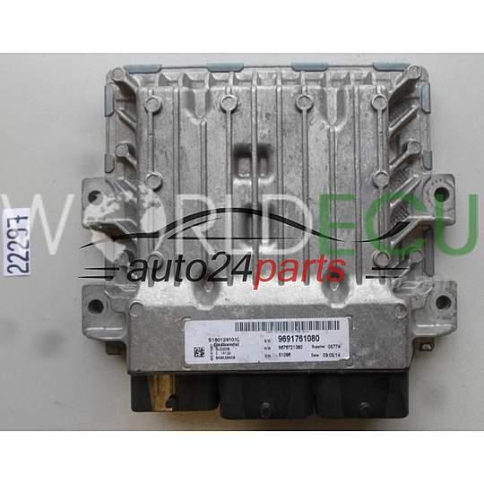 ECU Engine control unit CITROEN JUMPER PEUGEOT BOXER 2 2 HDI CONTINENTAL  S180129001 L, S180129001L, 9691761080