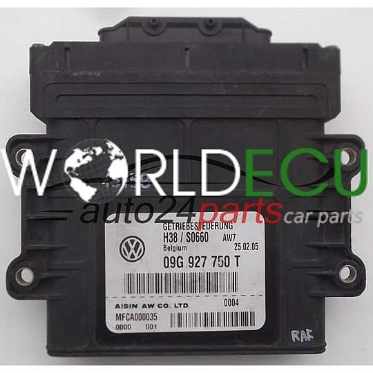 ECU AUTOMATIC GEARBOX VOLKSWAGEN PASSAT AISIN 09G 927 750 T, 09G927750T