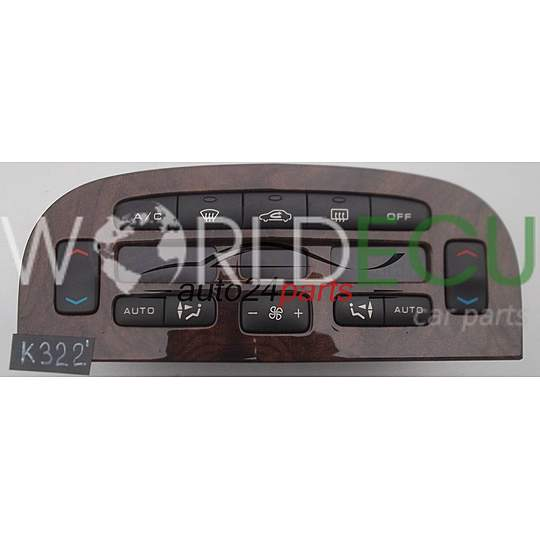 HEATING AND AIR CONDITIONING CONTROL PEUGEOT 607 96 295 526 GV, 96295526GV, 96295526
