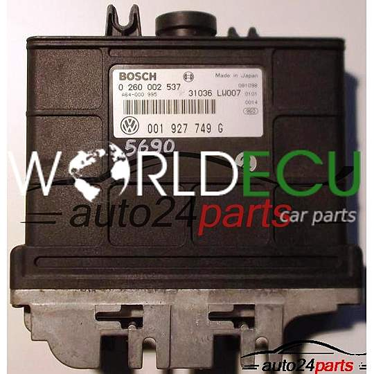 Ecu Automatic Gearbox Vw Volkswagen Polo Lupo 1 4 Bosch 0260002537