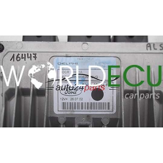 ECU ENGINE CONTROLLER FORD MONDEO MK3 2 0 TDCI 2S7Q-9F954-FA, 2S7Q9F954FA,  DDCR 80981A