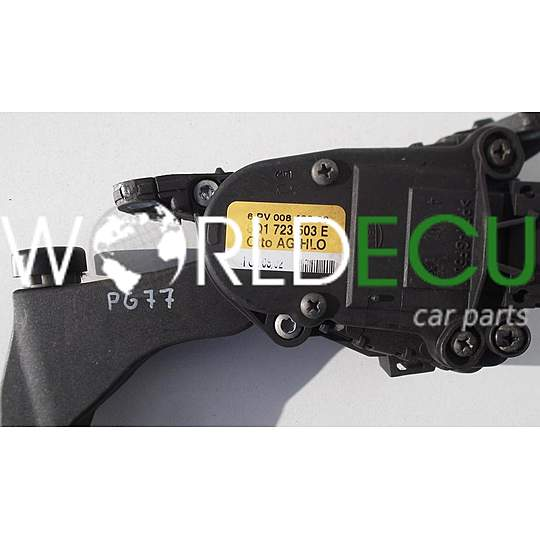 accelerator pedal electric throttle vw volkswagen seat. Black Bedroom Furniture Sets. Home Design Ideas