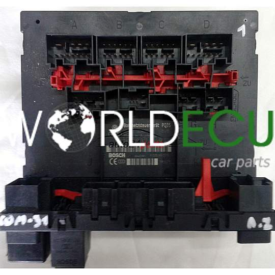Comfort Control Module BordnetzsteuergerÄt Pq35 1k0937049f 1k0 937 049 F Vw Golf Touran Caddy Pat Fuse Box Bsi World Ecu