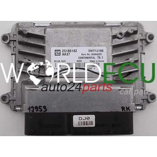 Ecu Engine Controller Chevrolet Cruze Gm 25186182 Aa37