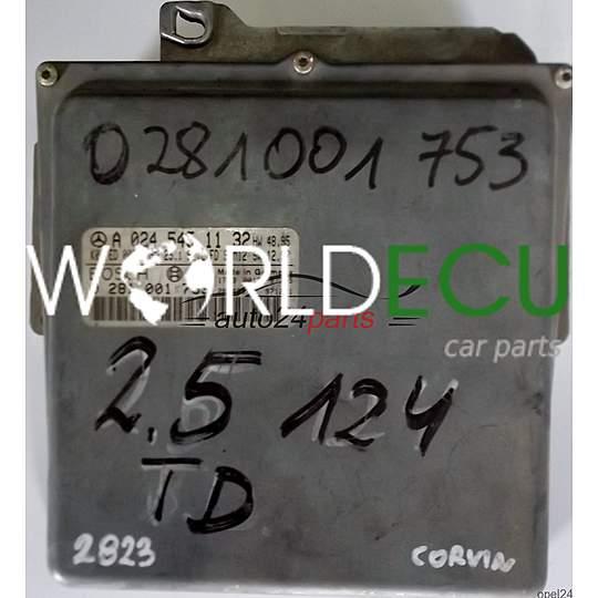 ECU ENGINE CONTROLLER MERCEDES W124 E300 3 0TD A0245451132