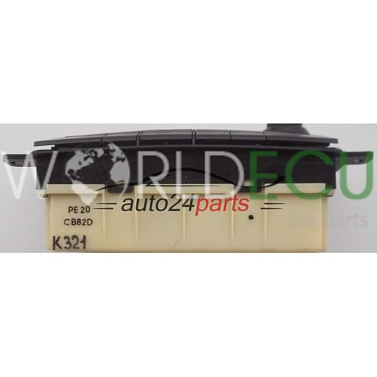 HEATING AND AIR CONDITIONING CONTROL MAZDA PREMACY CB82D, PE20 CB82D, PE20CB82D