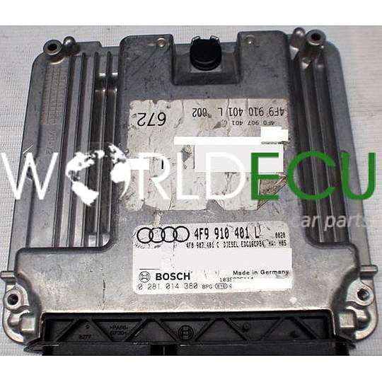 ECU ENGINE CONTROLLER AUDI A6 3.0 TDI BOSCH 0 281 014 380 ...