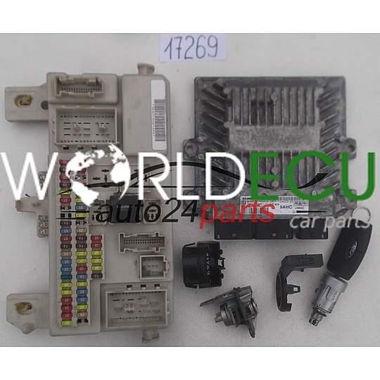 ECU ENGINE CONTROLLER FORD FIESTA C-MAX SIEMENS 5WS40166E-T