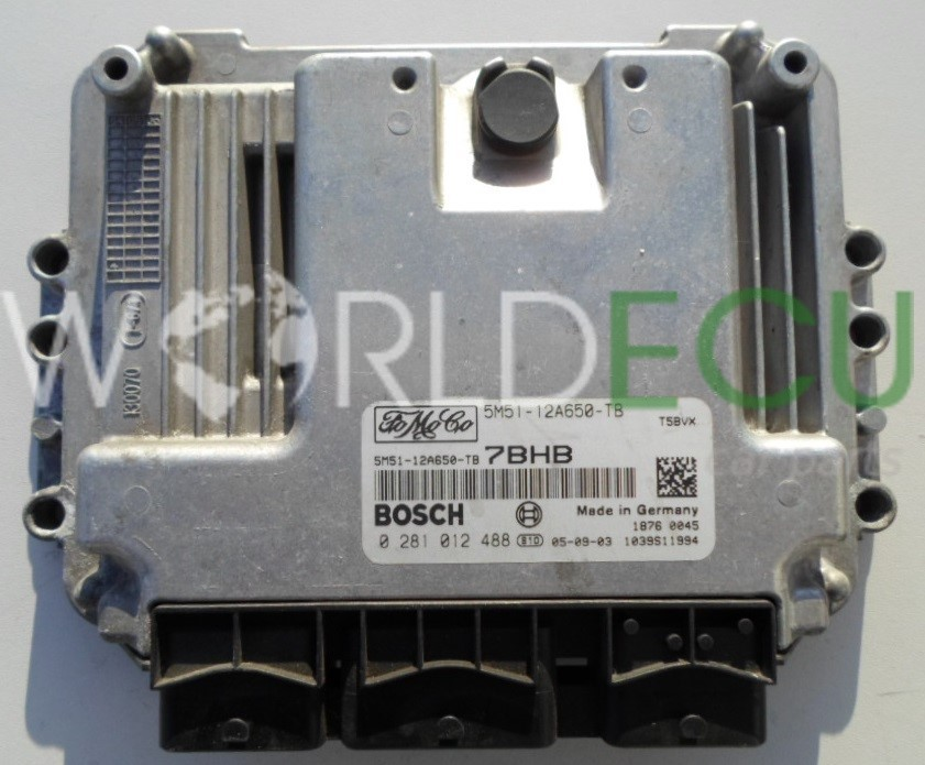 Ecu Engine Control Unit Ford Focus C