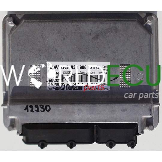ECU ENGINE CONTROLLER VW VOLKSWAGEN POLO FOX 1 4, SIEMENS 5WP40841