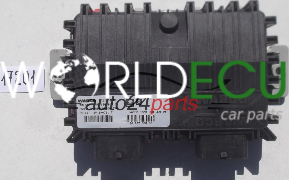 Ecu Suspension Control Citroen C4 Picasso Webco 446 158