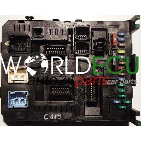 Fuse box wiring diagrams peugeot plug