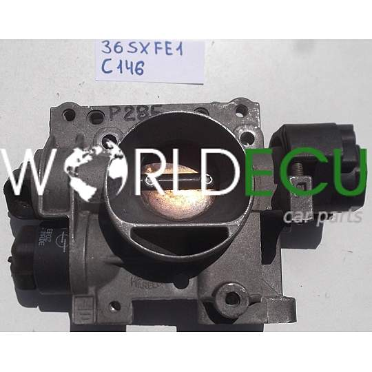 Throttle Body Fiat Magneti Marelli 36sxfe1  Mm802001291202