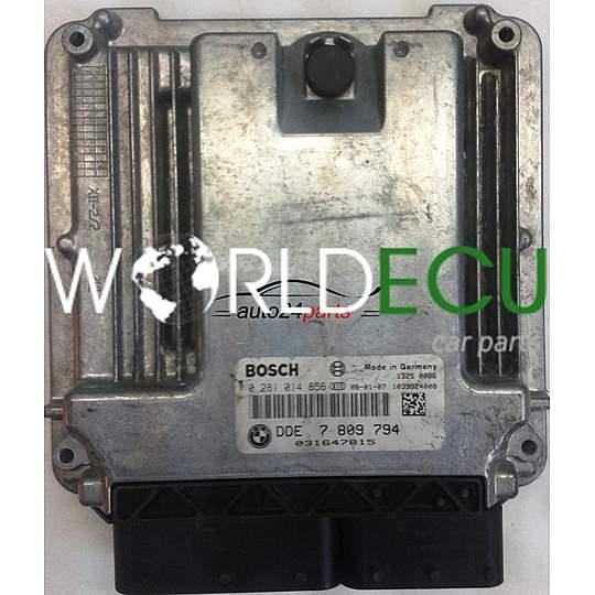 ECU ENGINE CONTROLLER MINI COOPER 1 6 D BOSCH 0281014856, 0