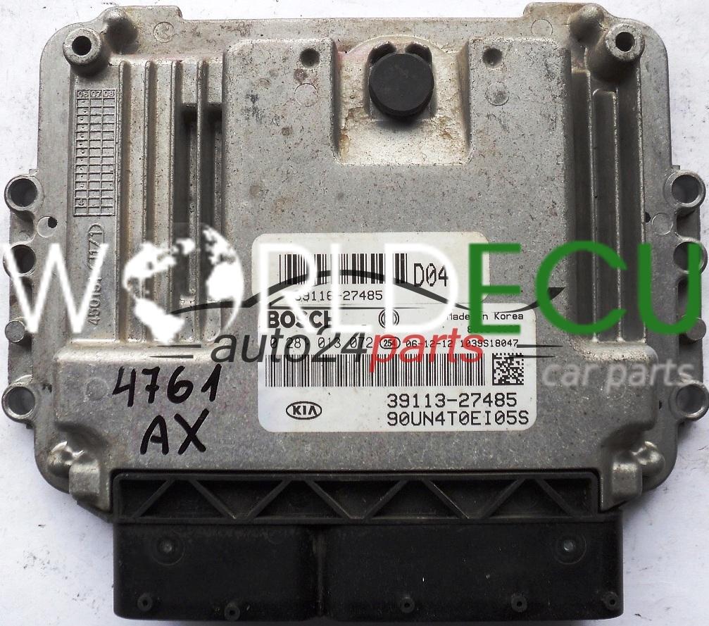 Ecu Engine Controller Kia Carens 20 Crdi Bosch 0281013072 0 281 Fuse Box Location 013 072 39116 27485 D04 39113 3911627485 3911327485 90un4t0ei05s